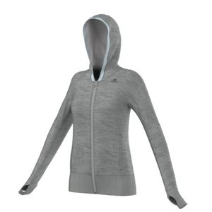 Adidas Beyond The Run Women FullZip Running Hoodie